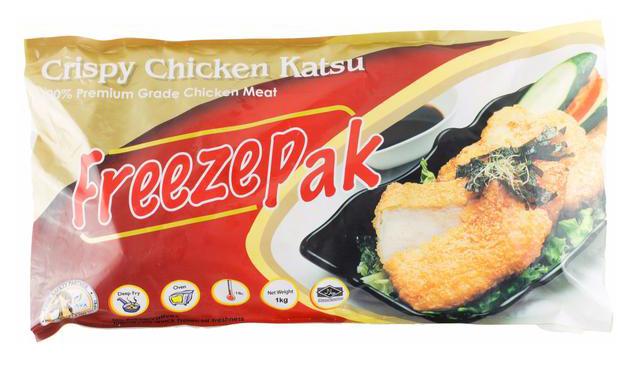 FreezePak Chicken Katsu 1kg