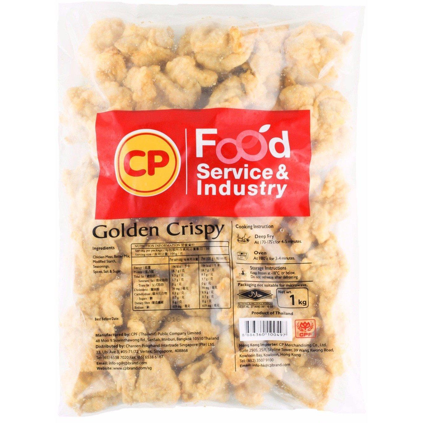 CP Golden Crispy Chicken 1kg