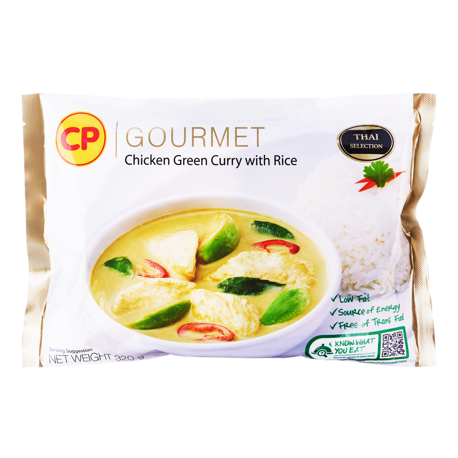 CP Green Chicken Curry with Rice