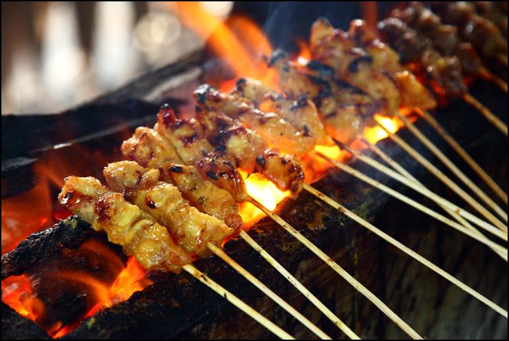 Satay Chicken/Mutton/Beef (50pcs/pkt)