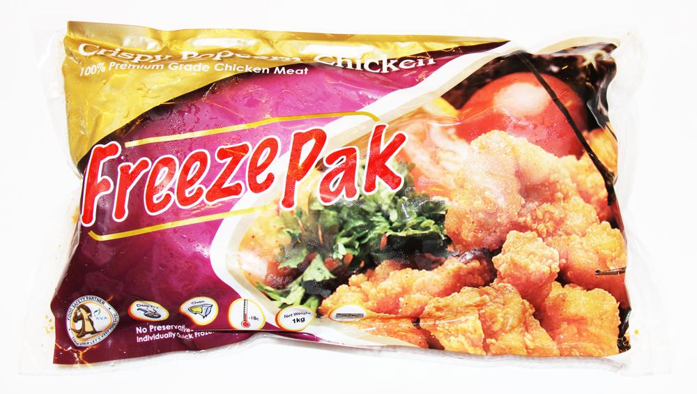 FreezePak Popcorn Chicken 1kg