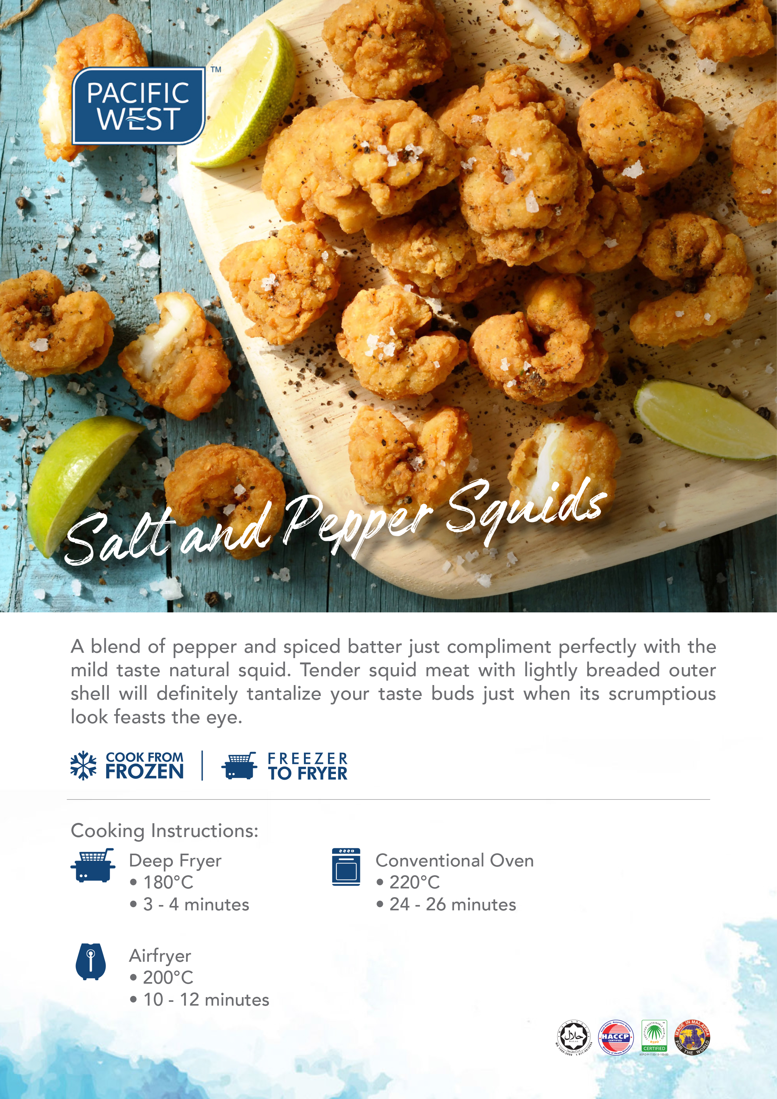 Pacific West Salt and Pepper Squid