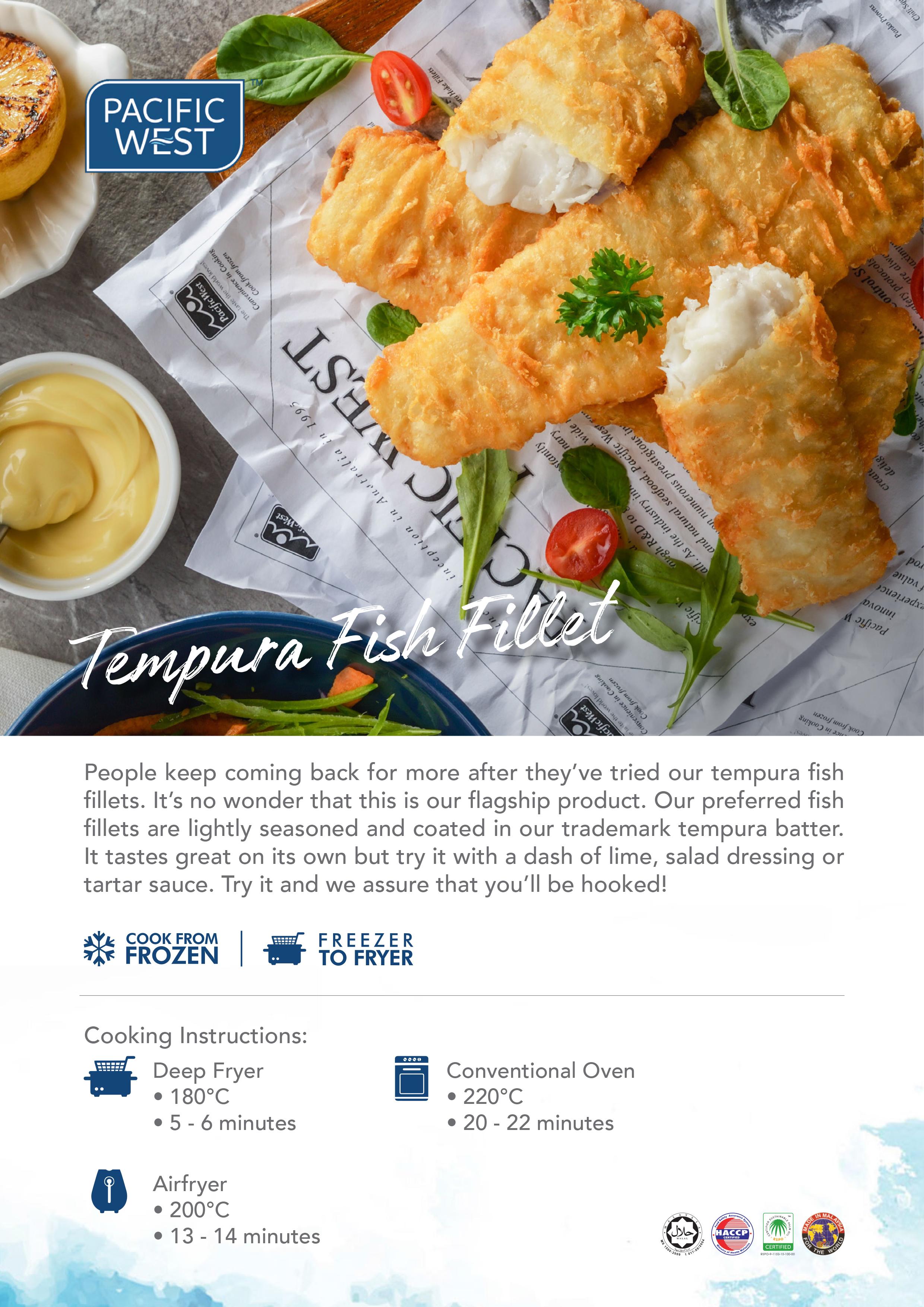 Pacific West Tempura Fish Fillet
